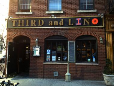 A Murray Hill bar has gone 'Lin-Sane,' changing its name from Third and Long, to Third and Lin.