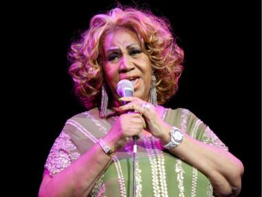 Aretha Franklin performs at Radio City Music Hall on February 18, 2012 in New York City.