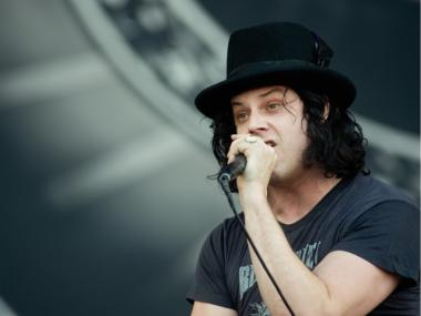 Jack White of the White Stripes, performing here in England in June 2010, will perform on Saturday Night on March 3, when Lindsay Lohan will host.