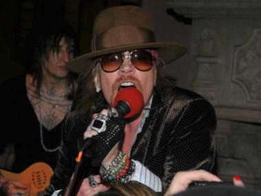 One of the more recent live musical performances at the Gramercy Park Hotel was a Guns N Roses show, featuring Axl Rose.