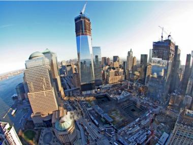 The World Trade Center site, shown in January 2012, will be subject to an extensive security plan.