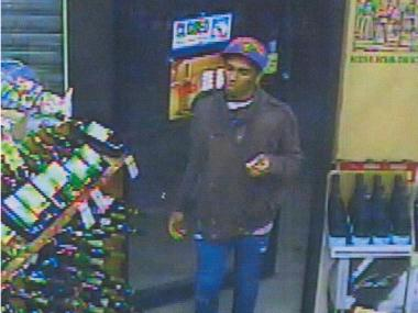Police are looking for this man in connection with a robbery at 3604 Riverdale Ave. on Feb. 20, 2012.