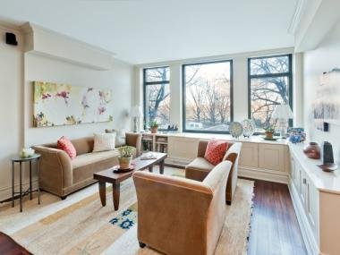 A 3-bedroom at 222 Riverside Dr. for $2.2 million. Brokers say the Upper West Side is a hot are this spring.