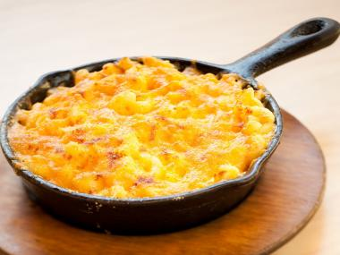 All-America mac and cheese from S'MAC in the East Village can be made gluten-free as well as vegan friendly.