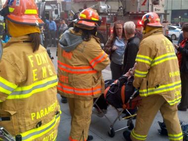 A transformer fire on West 33rd Street injured 20 people and forced the evacuation of 2,5000 on Thurs., March 8, 2012, authorities said.