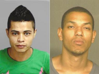 Cops are looking for Juan Carlos Martinez-Herrera, 26 and Edwin Faulkner, 30 in connection with the killing of John Laubach, 57.