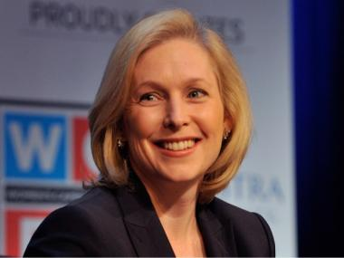 Sen. Kirsten Gillibrand attends Lifetime Television's 2012 'Every Woman Counts' campaign at Hofstra University on Dec. 2, 2011, in Hempstead, New York.