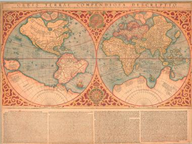 Gerard Mercator was well-known for his map projection, as well as for his hugely influential, three-volume atlas.