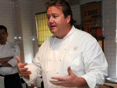 Chef Michael White is planning a new restaurant at 225 W. Broadway in TriBeCa.