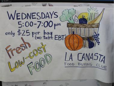 Hynes charges $25 for each La Canasta bag.