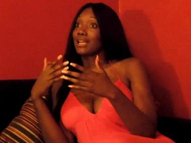 Nyomi Banxxx said she is always comfortable with her role performing in pornography films.