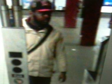 Subway surveillance cameras captured this robbery suspect March 19, 2012.
