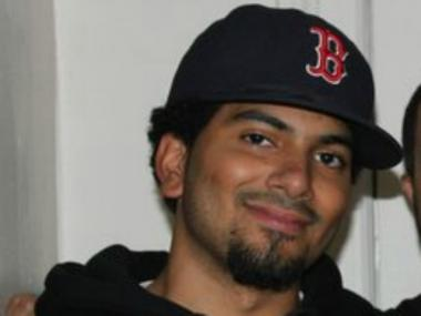 Amos Veloz, 21, was struck and killed by an MTA bus late Thursday, March 22, 2012.