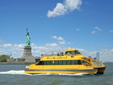 The temporary ferry service from Great Kills to Manhattan, ran by New York Water Taxi, started to shorten commutes lengthened by Hurricane Sandy will end Friday, Jan. 25, 2013.