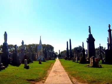 Calvary Cemetery in Queens