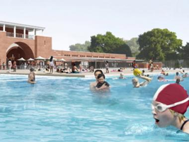 The pool will open June 28 for swimmers.