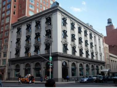 The building at 1511 Third Ave., now housing a Gap, was once the banking center for Yorkville.