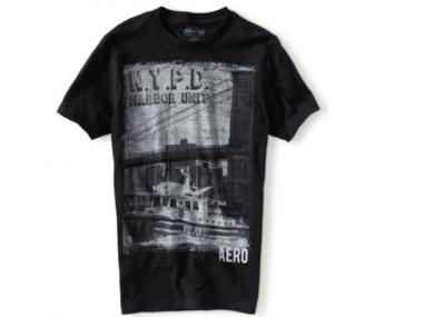 NYC & Co. partnered with C-Life and Aeropostale on a limited-edition T-shirt collection featuring city agencies.