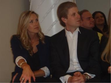 Eric Trump has been slapped with a BOE complaint filed by the Democratic Coalition Against Trump on Tuesday.