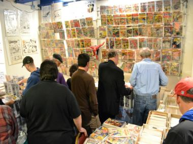 Comic book fans gathered at the Hotel Pennsylvania on Saturday, Mar. 31, 2012 for the Annual One Day Comic Book Show.