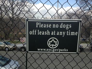 Some dog owners and residents are engaged in a debate over whether off-leash dogs should be allowed in Isham Park  form 9 a.m. to 9 p.m.