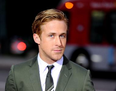 Actor Ryan Gosling apparently saved a woman from stepping into traffic on Sixth Avenue Tues., April 3, 2012.