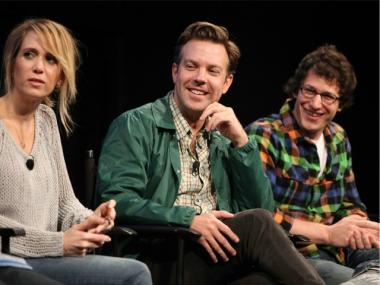 'SNL' stars (l. to r.) Kristen Wiig, Jason Sudeikis and Andy Samberg are reportedly leaving the show at the end of the season.