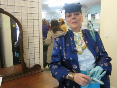 Longtime Spence-Chapin Thrift Store customer Cecile Champoux was sad to see the shop close.