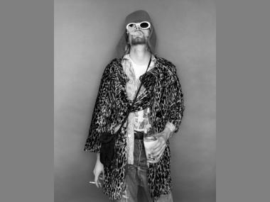 Kurt Cobain, only months before he passed away in April 1994.