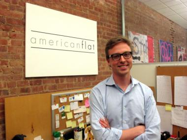 Giorgio Piccoli, 27, launched Americanflat on Cyber Monday of 2011. He founded the company to make art more affordable and accessible.