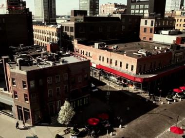 Meatpacking District merchants and developers recalled the history of the area in a video released in April 2012.