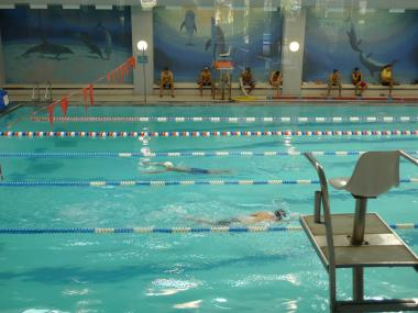 The city trains lifeguards at the Chelsea Recreation Center.
