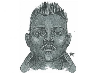 A sketch of the suspect police are searching for after an 11-year-old girl was sexually assaulted in Queens.