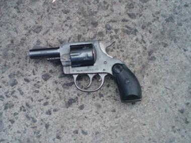 An image of the gun police say Rudolph Wyatt was carrying when he was shot to death after an attempted robbery in East Harlem.