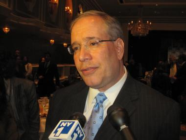 Two laptops were reported stolen from Manhattan Borough President and likely 2013 mayoral candidate Scott Stringer's campaign office Monday, June 25, 2012, the NYPD and news sources reported.