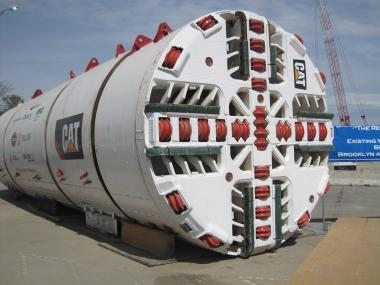 This boring machine,