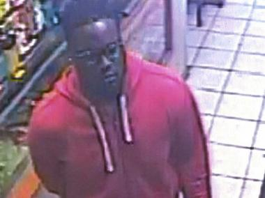 Image of man who stole a wallet and cell phone from a purse in a diner in Canarsie last month.