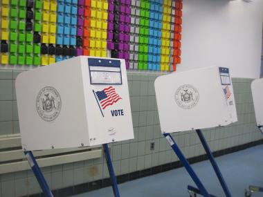 It is currently illegal in New York to take a picture of a marked-up ballot.