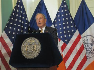 Mayor Michael Bloomberg vetoed a bill that would mandate higher-than-minimum wages for some buildings workers.