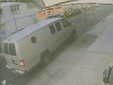 Police released a photo of the van the suspects used to carry out the robbery of a man on Eagle Avenue in Morrisania.