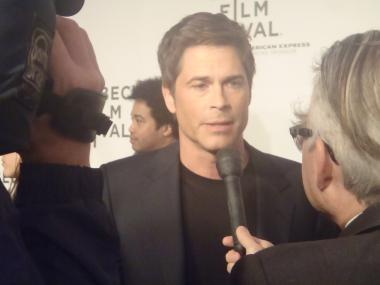 Rob Lowe at the premiere of