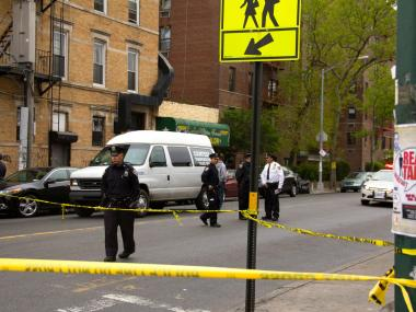 A 56-year-old man was struck and critically injured on Clarkson and Nostrand avenues on April 26, 2012.