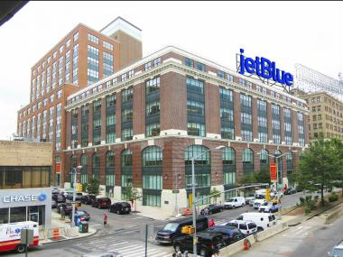 Image of the JetBlue Sign Rendering