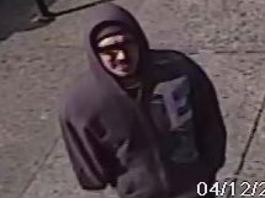 Suspect wanted in connection with three armed robberies that occurred in the 108 Pct.