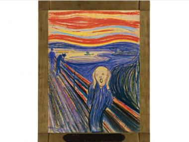 """The Scream"" is being auctioned off by Sotheby's on May 2 and carries a reported $80 million pre-sale price tag."