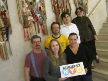 The team behind Kinofest NYC, a Ukrainian film festival in its third year.