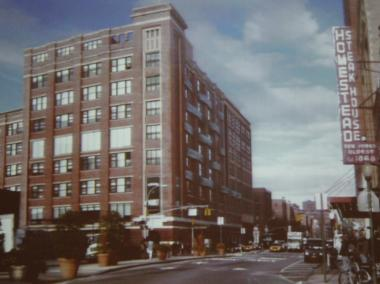 A rendering of the reduced-height office expansion on the Ninth Avenue side of Chelsea Market, presented to Community Board 4 on May 2, 2012.