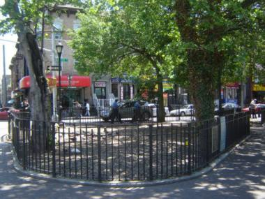 Dunnigham Triangle in Jackson Heights will get a  $200,000 face-lift this summer.