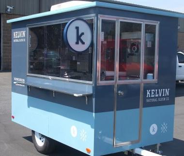 The frozen drink vendor Kelvin Natural Slush Co. will roll out its new food cart in Greenwich Village the weekend of May 5, 2012, its founder said.