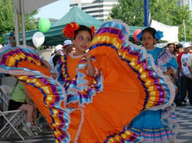 Traditional Mexican dancers will perform at the Fiesta Queens in North Corona on Saturday.